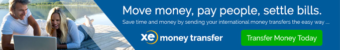 XE International Money Transfer