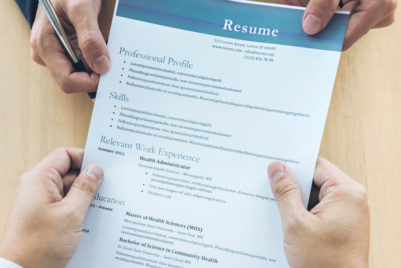 Things you shouldn't put on your resume
