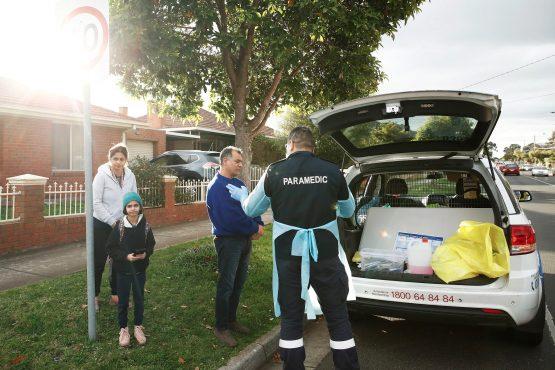 Coronavirus Australia - Victoria back into lockdown